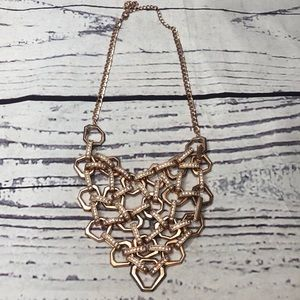 Torrid Plus Size Rose Gold Statement Necklace